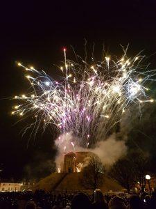 Fireworks, Jorvik Festival, York