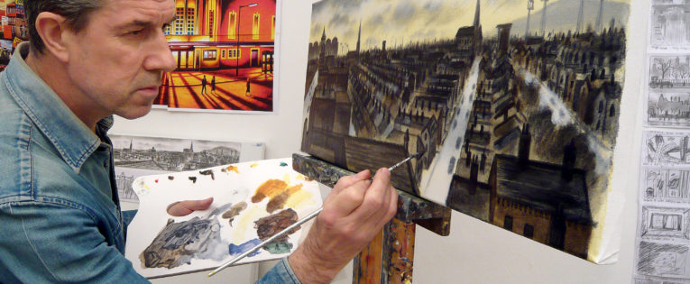 My Space: John Duffin, artist and printmaker