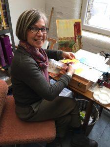 Liz Ackerley studio
