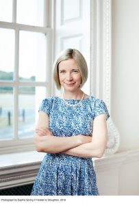Lucy Worsley Photograph by Sophia Spring