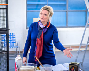 Sharon Small as Alice in Still Alice rehearsals. Photography by Anthony Robling.
