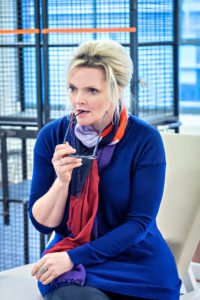Sharon Small in Still Alice rehearsals. Photography by Anthony Robling.