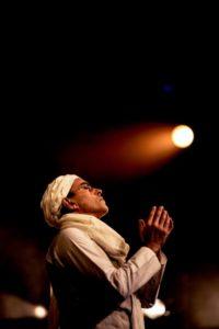 Ranjit Krishnamma in A Passage to India. Photographs by Idil Sukan