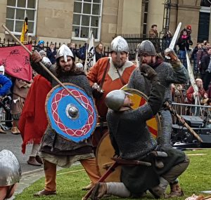 Skirmish. Jorvik Festival