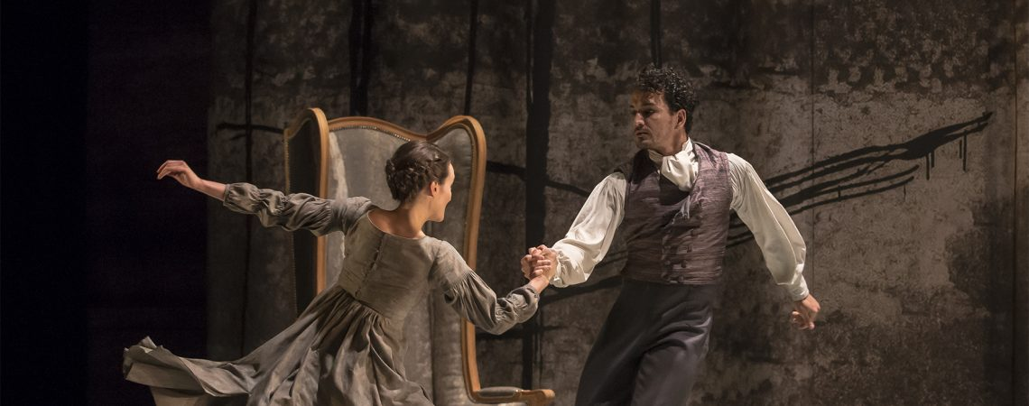 Northern Ballet's Jane Eyre, a ballet by Cathy Marston. Photo Emma Kauldhar