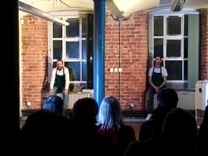 Playing God, The Viaduct Theatre, The Hat Museum, Stockport