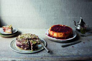 Tahina, Chocolate & Postachio Cheesecake