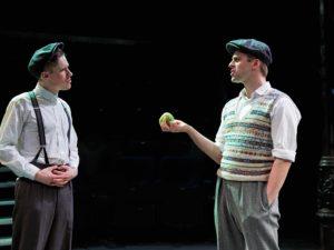 Dan Parr as Bill, Harry Long as Alfie
