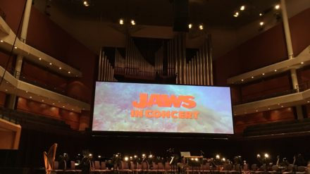 Jaws in Concert, Bridgewater Hall, Manchester