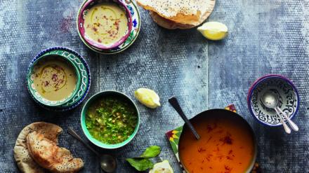 Pumpkin & Saffron Soup