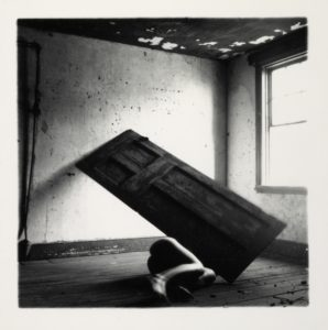 Francesca Woodman, 1958-1981 Untitled 1975-80 Photograph, gelatin silver print on paper 140 x 140 mm ARTIST ROOMS Acquired jointly with the National Galleries of Scotland through The d'Offay Donation with assistance from the National Heritage Memorial Fund and the Art Fund 2008 © Courtesy of Charles Woodman