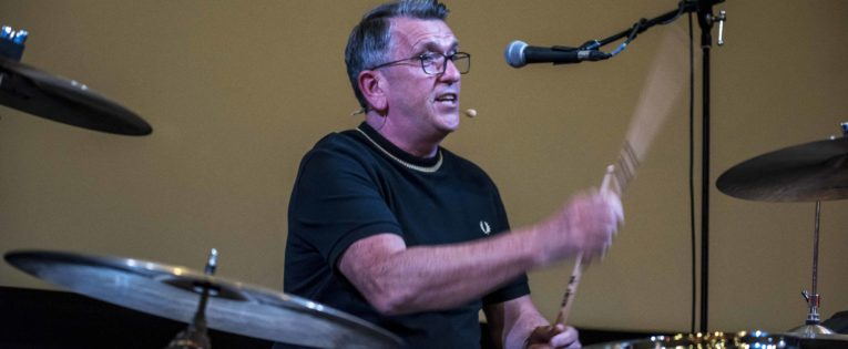 Smiths drummer Mike Joyce talks to Northern Soul at Salford Lads Club
