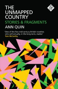 The Unmapped Country, Ann Quinn, AOS