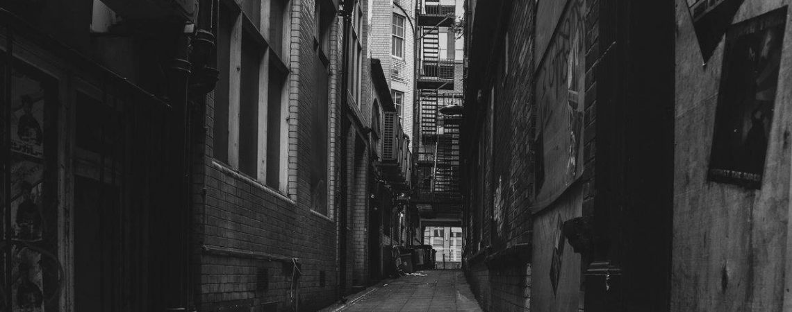 Newcastle ginnel by Lee Stoneman