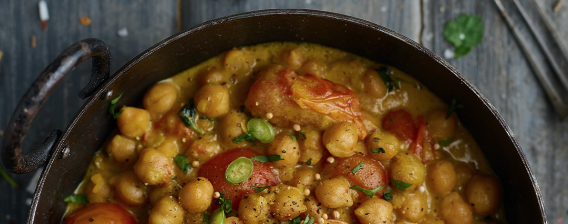 Chickpea Curry, Pen and Pencil, Ancoats and Northern Quarter Cookbook