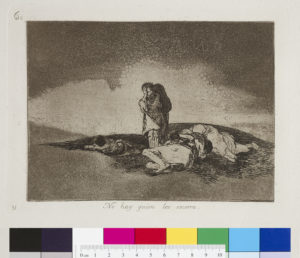 Francisco Goya Y Lucientes, No Hay Quien Los Socorra (There is no one to help them), 1863. Manchester Art Gallery