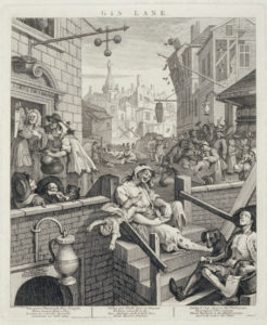 William Hogarth, Gin Lane, 1750. The Whitworth, The University of Manchester