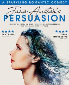 Janes Austen's Persuasion, Tue 9 Oct to Sat 13 Oct