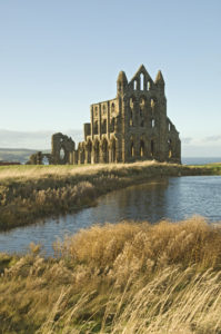 whitby abbey guide book whitby north yorkshire abbey and pond