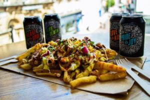 Loaded fries sharer, Slap & Pickle