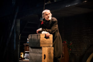 Robert Pickavance (Scrooge) in A Christmas Carol 4. Photography Andrew Billington.