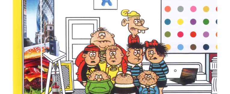 Photo Gallery: Beano characters get punk pop art makeover at RedHouse Originals, Harrogate