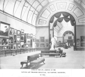 14_Interior View of a Section of the National Art Treasures Exhibition - RR