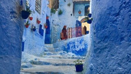 Chefchaouen, Morocco by Cameron Welk