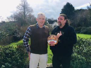 Mike Burgess and Stuart Moll