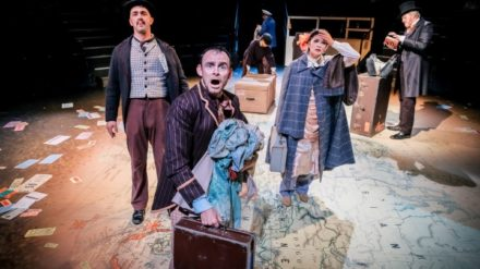 Around the World in 80 Days, at the Playhouse Wed 17 Apr to Sat 20 Apr2