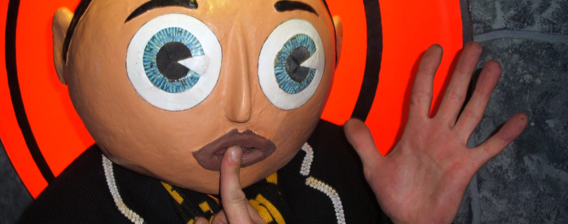 Being Frank The Chris Sievey Story still 1 - Frank Sidebottom - photo credit Dave Arnold