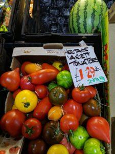 Gorton market stall, One Manchester