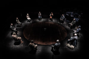 Sweeney Todd at the Everyman. Photo by Marc Brenner 1003