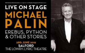 Michael Palin, The Lowry. Salford