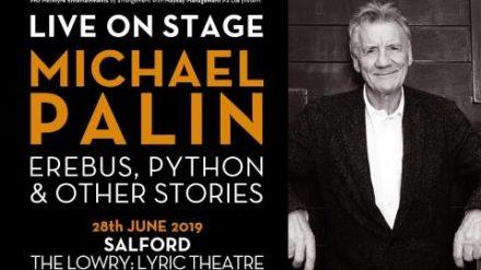 Michael Palin, The Lowry. Salford