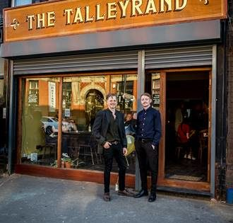 """""""We'd like to make history."""" The Talleyrand, Levenshulme, Manchester"""