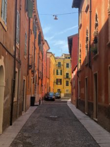 Verona street (courtesy of Emma Ball)