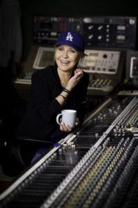 Lulu in the studio